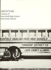 Page 5, 1972 Edition, Deerfield High School - O YAD Yearbook (Deerfield, IL) online yearbook collection