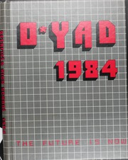 1984 Edition, Deerfield High School - O YAD Yearbook (Deerfield, IL)