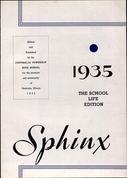 Page 9, 1935 Edition, Centralia Township High School - Sphinx Yearbook (Centralia, IL) online yearbook collection