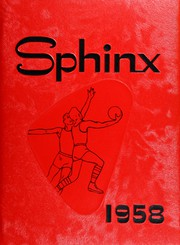 Page 1, 1958 Edition, Centralia Township High School - Sphinx Yearbook (Centralia, IL) online yearbook collection