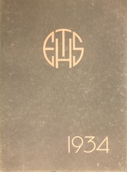 Page 1, 1934 Edition, Evanston Township High School - Key Yearbook (Evanston, IL) online yearbook collection