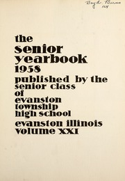 Page 9, 1938 Edition, Evanston Township High School - Key Yearbook (Evanston, IL) online yearbook collection