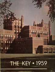 Evanston Township High School - Key Yearbook (Evanston, IL) online yearbook collection, 1959 Edition, Page 1