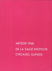 Page 5, 1968 Edition, De La Salle Institute - Meteor Yearbook (Chicago, IL) online yearbook collection
