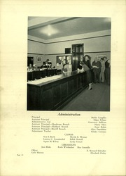 Page 18, 1938 Edition, Lindblom Technical High School - Eagle Yearbook (Chicago, IL) online yearbook collection