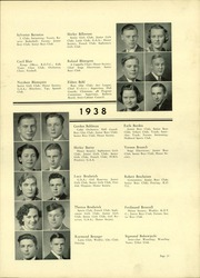 Page 29, 1938 Edition, Lindblom Technical High School - Eagle Yearbook (Chicago, IL) online yearbook collection