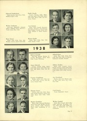 Page 33, 1938 Edition, Lindblom Technical High School - Eagle Yearbook (Chicago, IL) online yearbook collection