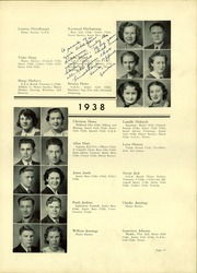 Page 35, 1938 Edition, Lindblom Technical High School - Eagle Yearbook (Chicago, IL) online yearbook collection