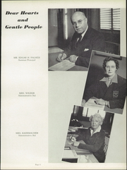 Page 15, 1951 Edition, Lindblom Technical High School - Eagle Yearbook (Chicago, IL) online yearbook collection