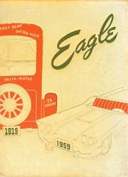 1959 Edition, Lindblom Technical High School - Eagle Yearbook (Chicago, IL)