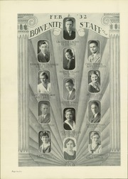 Page 16, 1932 Edition, James Harvey Bowen High School - Bowenite Yearbook (Chicago, IL) online yearbook collection