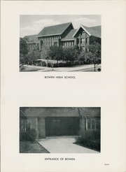 Page 11, 1936 Edition, James Harvey Bowen High School - Bowenite Yearbook (Chicago, IL) online yearbook collection