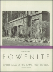 Page 7, 1946 Edition, James Harvey Bowen High School - Bowenite Yearbook (Chicago, IL) online yearbook collection