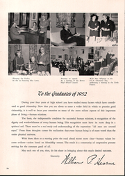 Page 10, 1952 Edition, James Harvey Bowen High School - Bowenite Yearbook (Chicago, IL) online yearbook collection