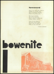 Page 5, 1954 Edition, James Harvey Bowen High School - Bowenite Yearbook (Chicago, IL) online yearbook collection