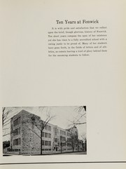 Page 11, 1939 Edition, Fenwick High School - Blackfriars Yearbook (Oak Park, IL) online yearbook collection
