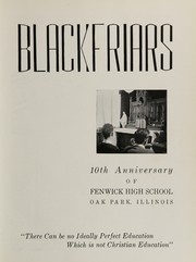 Page 7, 1939 Edition, Fenwick High School - Blackfriars Yearbook (Oak Park, IL) online yearbook collection
