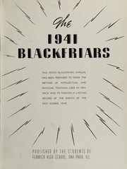 Page 7, 1941 Edition, Fenwick High School - Blackfriars Yearbook (Oak Park, IL) online yearbook collection