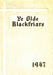Page 1, 1947 Edition, Fenwick High School - Blackfriars Yearbook (Oak Park, IL) online yearbook collection