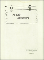 Page 5, 1947 Edition, Fenwick High School - Blackfriars Yearbook (Oak Park, IL) online yearbook collection