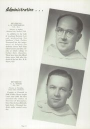 Page 15, 1952 Edition, Fenwick High School - Blackfriars Yearbook (Oak Park, IL) online yearbook collection