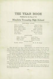 Page 8, 1919 Edition, Mendota High School - Atodnem Yearbook (Mendota, IL) online yearbook collection