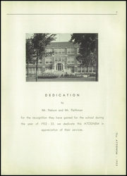 Page 9, 1933 Edition, Mendota High School - Atodnem Yearbook (Mendota, IL) online yearbook collection