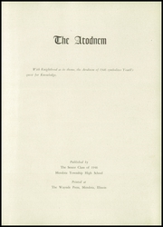 Page 5, 1946 Edition, Mendota High School - Atodnem Yearbook (Mendota, IL) online yearbook collection