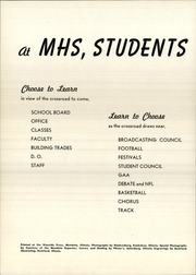 Page 6, 1950 Edition, Mendota High School - Atodnem Yearbook (Mendota, IL) online yearbook collection