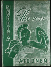 1951 Edition, Mendota High School - Atodnem Yearbook (Mendota, IL)