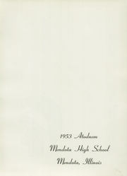 Page 5, 1953 Edition, Mendota High School - Atodnem Yearbook (Mendota, IL) online yearbook collection