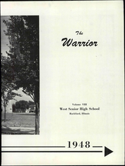 Page 9, 1948 Edition, West High School - Warrior Yearbook (Rockford, IL) online yearbook collection