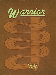 1958 Edition, West High School - Warrior Yearbook (Rockford, IL)
