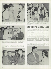 Page 10, 1959 Edition, West High School - Warrior Yearbook (Rockford, IL) online yearbook collection