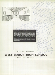 Page 7, 1959 Edition, West High School - Warrior Yearbook (Rockford, IL) online yearbook collection