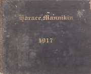 Page 1, 1917 Edition, Horace Mann School - Horace Mannikin Yearbook (Bronx, NY) online yearbook collection