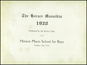 Page 7, 1928 Edition, Horace Mann School - Horace Mannikin Yearbook (Bronx, NY) online yearbook collection