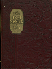 1931 Edition, Horace Mann School - Horace Mannikin Yearbook (Bronx, NY)