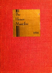 1934 Edition, Horace Mann School - Horace Mannikin Yearbook (Bronx, NY)