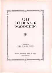 Page 4, 1935 Edition, Horace Mann School - Horace Mannikin Yearbook (Bronx, NY) online yearbook collection