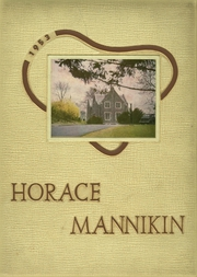 1953 Edition, Horace Mann School - Horace Mannikin Yearbook (Bronx, NY)
