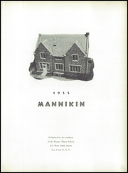 Page 7, 1955 Edition, Horace Mann School - Horace Mannikin Yearbook (Bronx, NY) online yearbook collection
