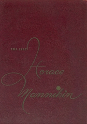1957 Edition, Horace Mann School - Horace Mannikin Yearbook (Bronx, NY)
