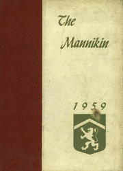 1959 Edition, Horace Mann School - Horace Mannikin Yearbook (Bronx, NY)