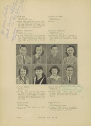 Page 14, 1944 Edition, Morris Community High School - Chief Yearbook (Morris, IL) online yearbook collection