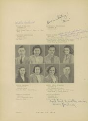 Page 16, 1944 Edition, Morris Community High School - Chief Yearbook (Morris, IL) online yearbook collection