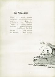 Page 6, 1950 Edition, East Peoria Community High School - Epoch Yearbook (East Peoria, IL) online yearbook collection