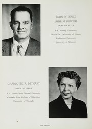 Page 16, 1956 Edition, East Peoria Community High School - Epoch Yearbook (East Peoria, IL) online yearbook collection
