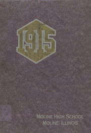 Page 1, 1915 Edition, Moline High School - M Yearbook (Moline, IL) online yearbook collection