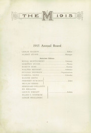 Page 6, 1915 Edition, Moline High School - M Yearbook (Moline, IL) online yearbook collection